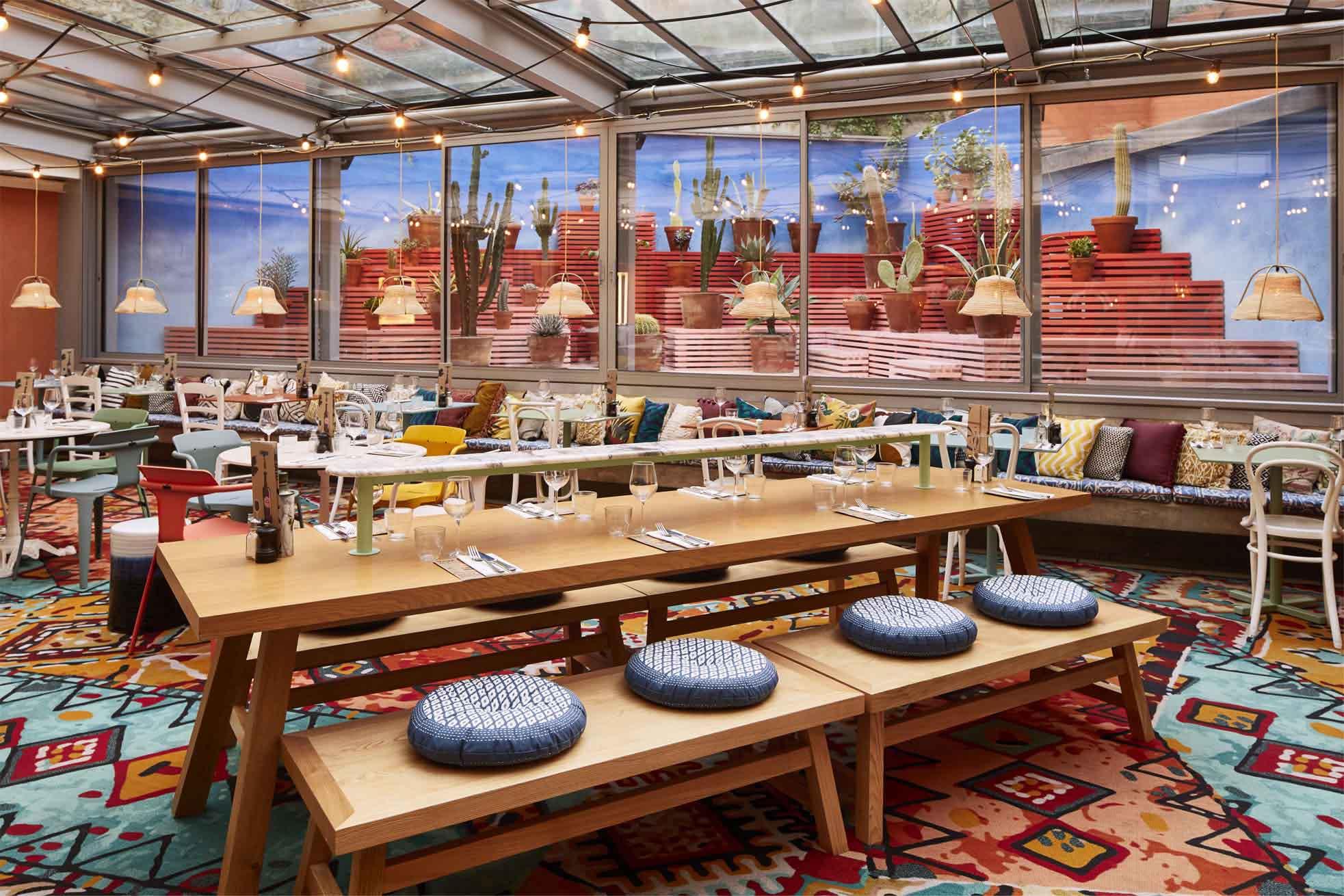 Mama Shelter Design Bedrooms Unique Restaurants Bars Rooftops